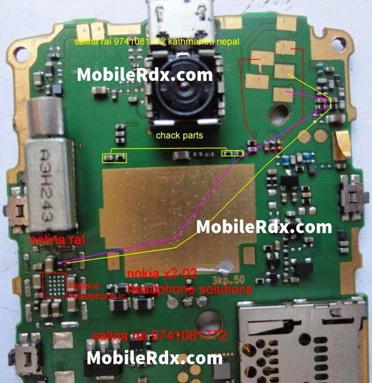 Nokia X2 02 Charging Problem Wiring Diagrams | Repair ...