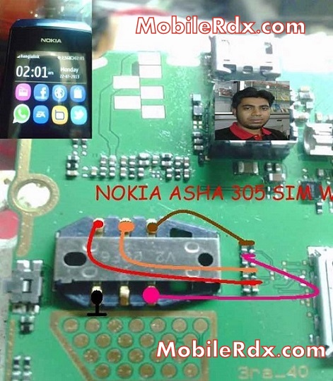 nokia 305 sim card ways insert sim solution