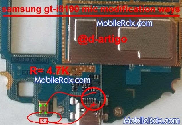 samsung 2Bgt i8190 2Bmic 2Bmodification 2Bjumper 2Bsolution