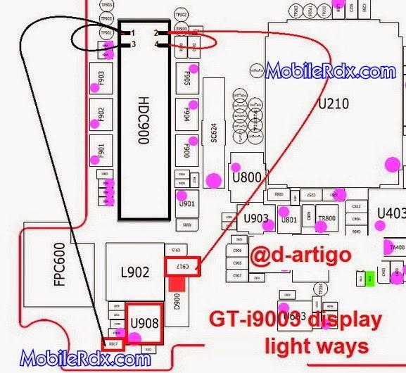 samsung 2Bgt i9003 2Bdisplay 2Blight 2Bways 2Bsolution