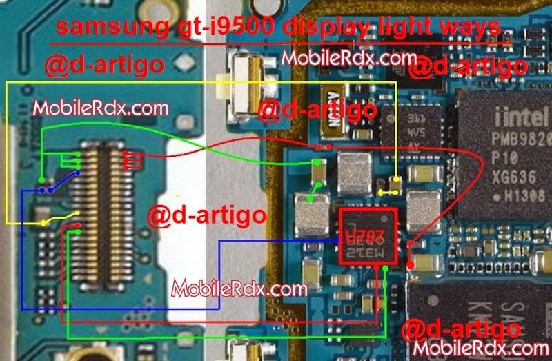 samsung 2Bgt i9500 2Bdisplay 2Blight 2Bways 2Bjumper 2Bsolution - Samsung I9500 Galaxy S4  Display Light Problem Ways Solution