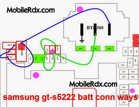 samsung 2Bgt s5222 2Bbattery 2Bconnecter 2Bways 2Bjumper - Samsung GT-S5222 Battery Connnecter Terminal Ways