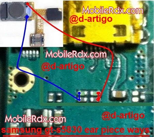 samsung 2Bgt s5830 2Bear 2Bspeaker 2Bproblem 2Bjumper 2Bways - Samsung S5830 Earpiece Speaker Problem Repair By Jumper