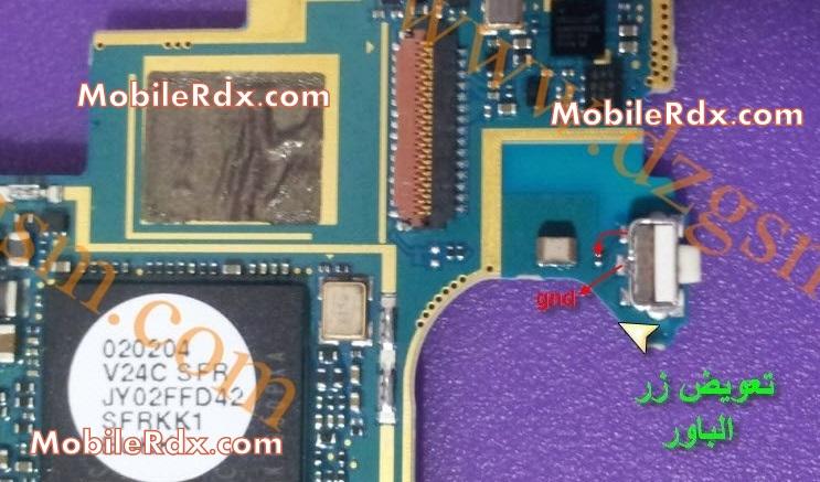samsung note n700 power button ways power switch jumper