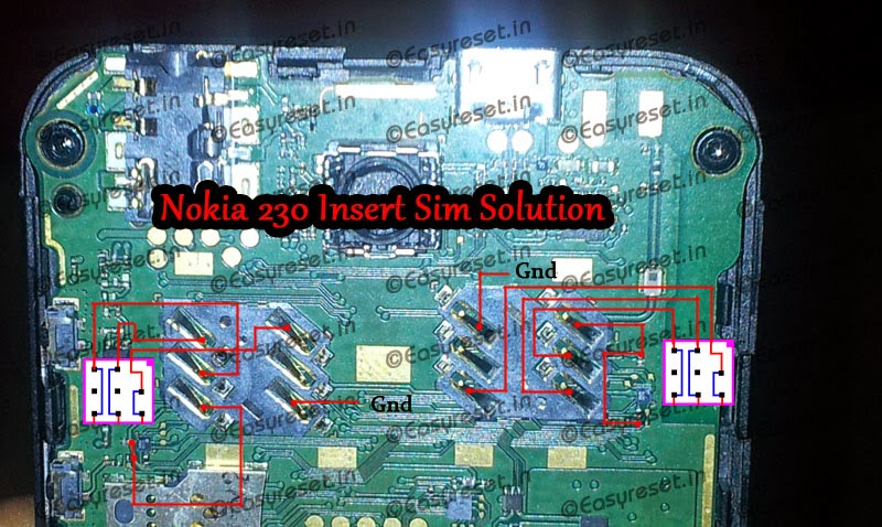 Nokia 230 insert sim solution ic jumpers - Nokia 230 Insert Sim Problem Solution Ways Ic Jumpers