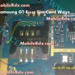 Samsung GT-E2652 Sim Card Ways Jumper Problem Solution