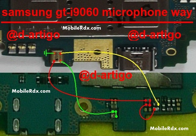 Samsung GT I9060 Mic Ways Jumper Microphone Solution - Samsung Grand Neo GT-I9060 Mic Problem Ways Solution Jumper