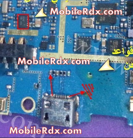 Samsung GT S6802 Charging Ways Solution