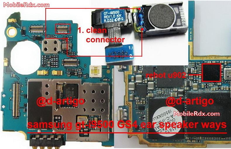 Samsung I10 Galaxy S10 Ear Speaker Ways Problem Solution