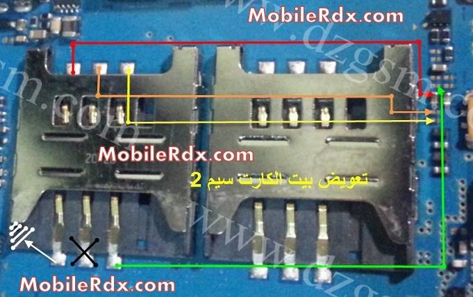 Samsung S6802 Sim Card 2 JUmper Ways Solution