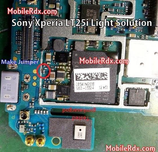 Sony 2BLT25i 2BLight 2Bways 2BJumper 2BSolution - Sony Xperia LT25i Light Problem Ways Jumper Solution Fuse Location