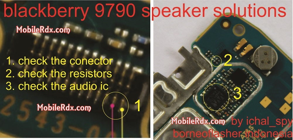 blackberry 9790 speaker problem ways solution