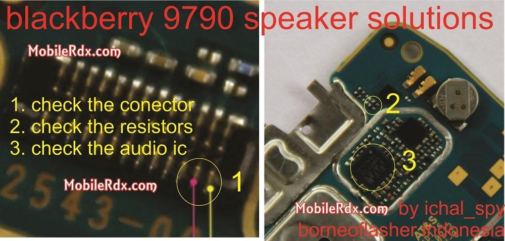 blackberry 9790 speaker problem ways solution