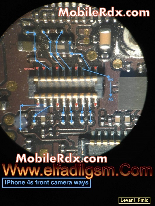 iphone4s front camera problem ways solution