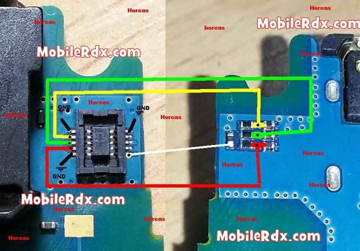 LG Optimus L3 E400 Touch Screen Repair Jumper Solution