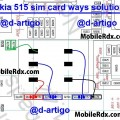 nokia 515 insert sim card problem jumper ways solution