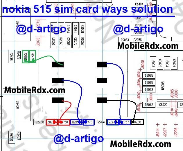 nokia 515 insert sim card problem jumper ways solution