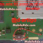 nokia asha 501 power on off button ways problem jumper