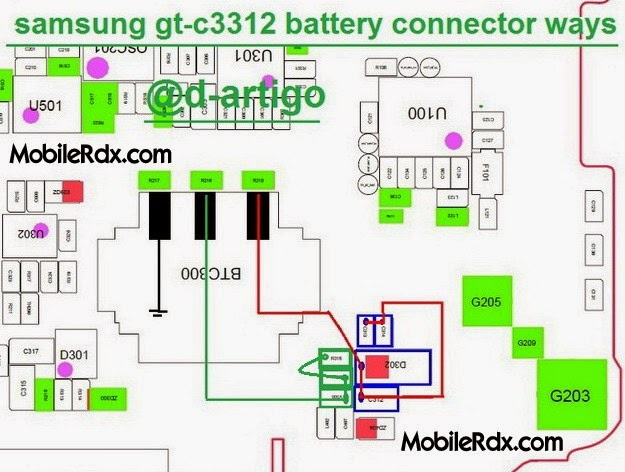 samsung 2Bc3312 2Bbattery 2Bconnector 2Bways - Samsung C3312 Duos Battery Connecter Ways Problem Jumper