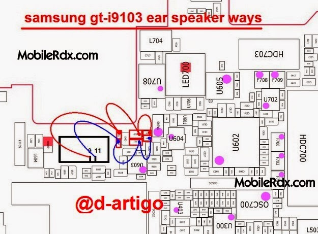 samsung 2Bgt i9103 2Bear 2Bspeaker 2Bways 2Bjumper 2Bsolution - Samsung I9103 Ear Speaker Problem Jumper Solution