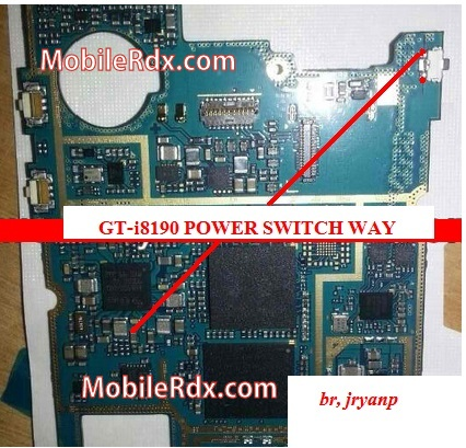 samsung gt-i8190 power button  ways
