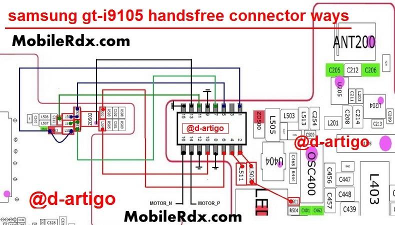 samsung gt-i9105p handsfree connector ways