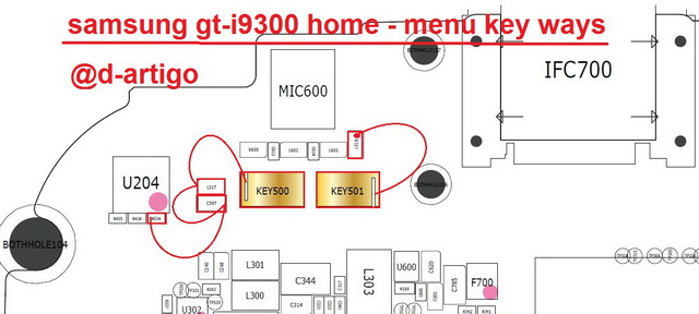 samsung gt i9300 home menu key button ways