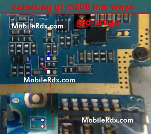 samsung gt-m200 mic problem ways jumper solution