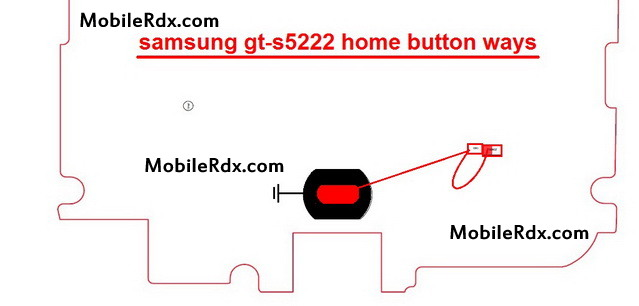 samsung gt s5222 home button ways menu key jumper