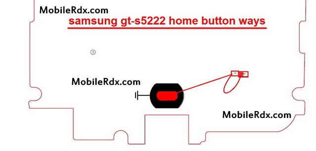 samsung gt s5222 home button ways menu key jumper - Samsung Star 3 Duos S5222 Home Button Ways Problem Jumper