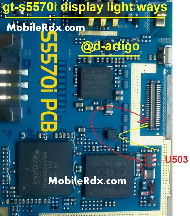 samsung gt s5570i display light ways solution