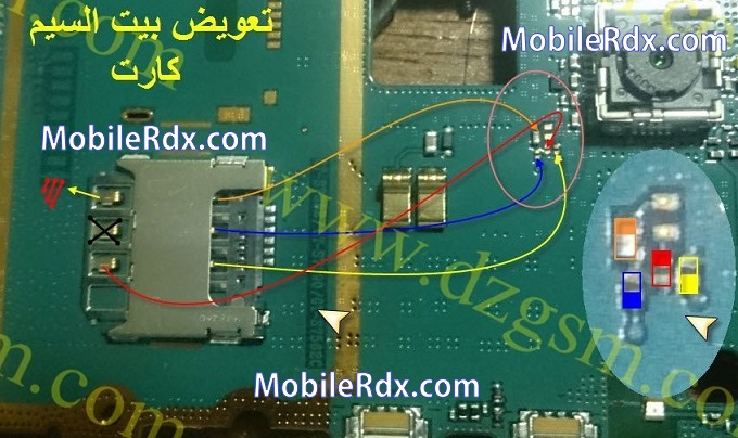 samsung gt-s7390 sim card ways repair solution