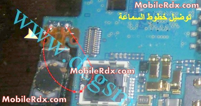 samsung s5780 wave 578 ear speaker jumper problem solution - Samsung GT-S5780 Speaker Receiver Audio Problem Repair Ways