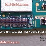 sony xperia z2 display light not working problem solution