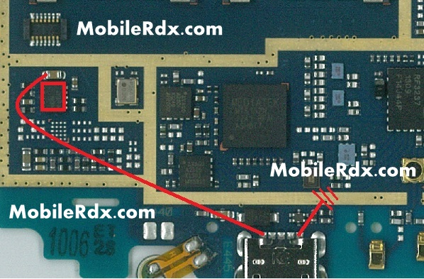 LG E445 Charging ways jumper Charge Solution