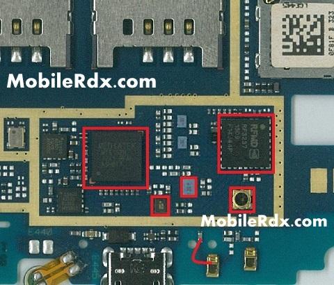 LG E445 waek or low network jumper solution