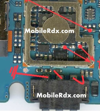 LG E615 Battery Connecter Line Ways Jumper Solution