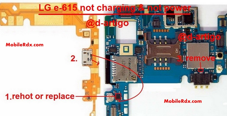 Lg E615 Charging Ways Power Problem Solution