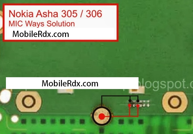 Nokia Asha 306 MIC Ways Jumper Solution