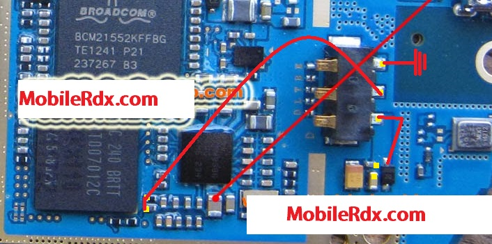 Samsung s6102 battery connecter point ways