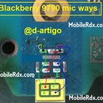 blacberry 9790 mic ways problem jumper solution