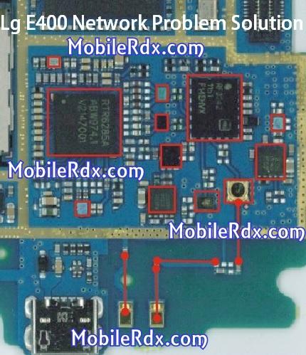 lg e400 network problem ways jumper solution