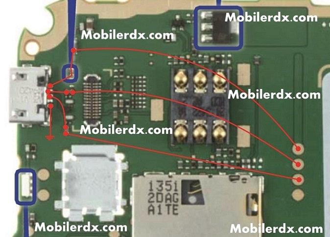 nokia 225 usb pin connecter ways
