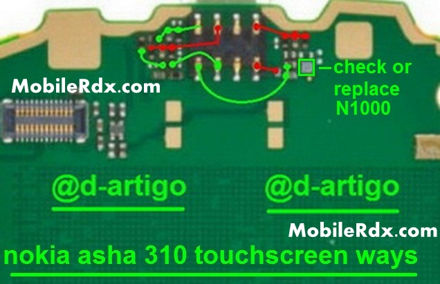nokia asha 310 touchscreen ways touch not working solution