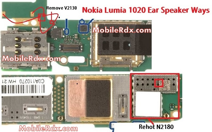 nokia lumia 1020 ear speaker ways solution