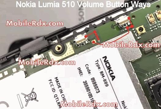 nokia lumia 510 volume up down button ways