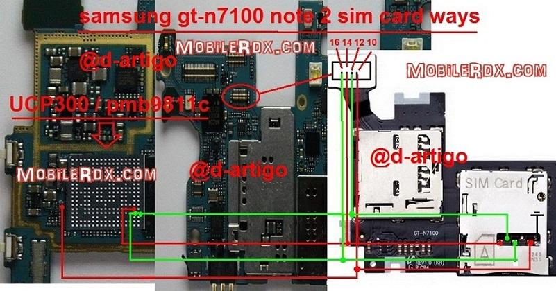 samsung gt n7100 sim card ways solution jumper