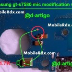 samsung gt-s7580 mic ways problem solution
