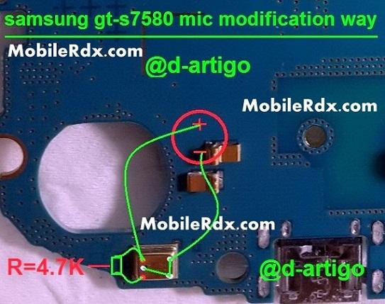 samsung gt-s7580 mic ways problem solution