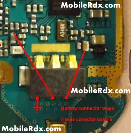 samsung s7362 battery connecter point ways problem solution